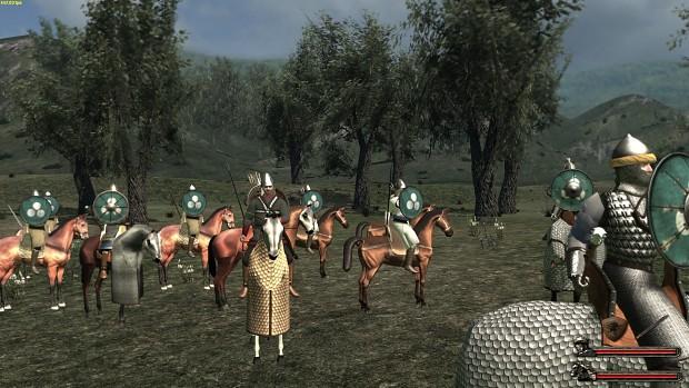 Sassanid Cavalry