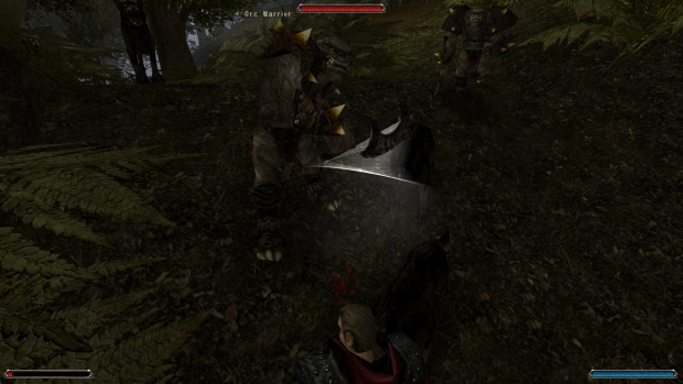 Orc grunts in Khorinis