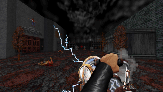 Tesla Cannon image - Blood - Extra Crispy mod for Blood