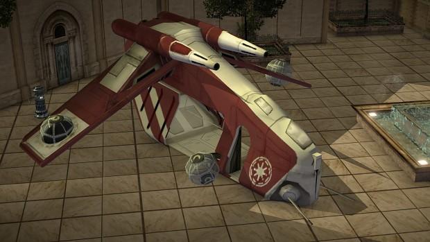 Coruscant Guard LAAT Gunship