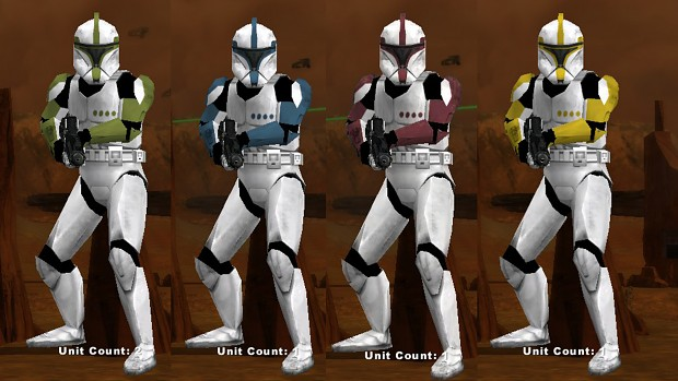 Phase 1 Clone Ranks (Campaign only)