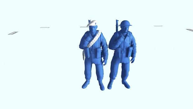 Blue Soldier & Highlander Variant