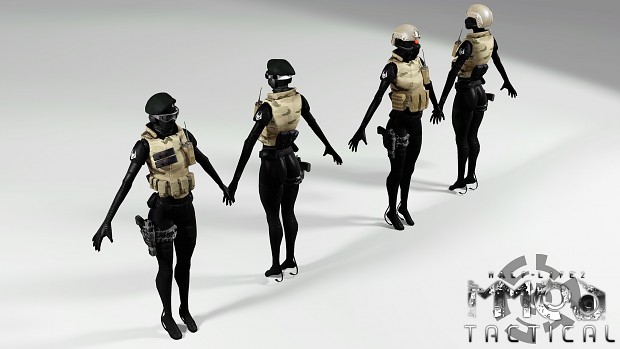 Combine Female Soldier