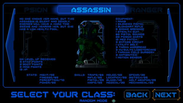 NEW CLASS: Assassin