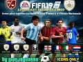 FIFA 19 - ICONS ONLY MOD / Legendary Squad File by LuanJaguar93