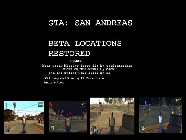 San Andreas OG locations restored