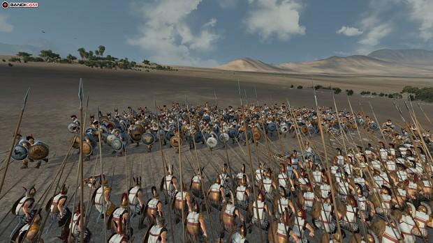 Bronze Shields vs Picked Hoplite 6