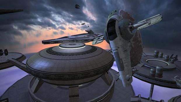 Hero Starfighters incoming!! (Bespin Dusk)