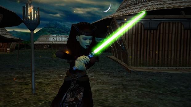 Master Luminara Unduli Reporting for Battle