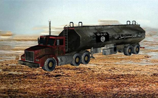 isis suicide truck model