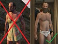 GTA V - Trevor Dress Removal skin mod