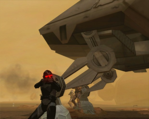 Shadow Trooper on geonosis