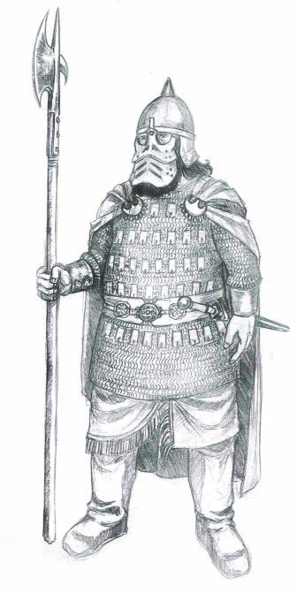 Dwarven Warrior Concept