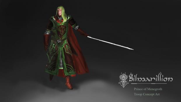 Prince of Menegroth, concept troop design