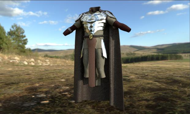Elven Armor Concept.