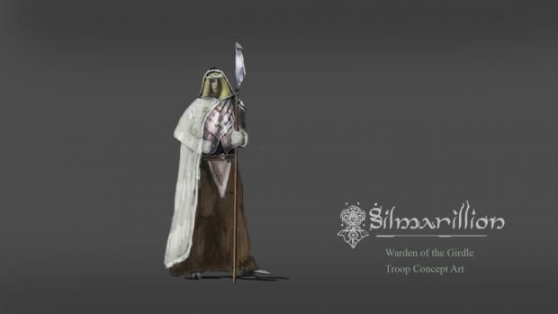 Warden of the Girdle, troop concept art