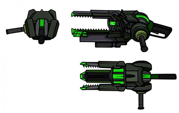 Half-Life: Hostile Takeover - Vortiguant Gun