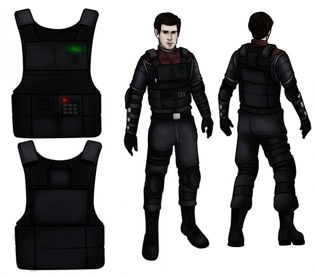 Half-Life: Hostile Takeover - Protagonist & Suit