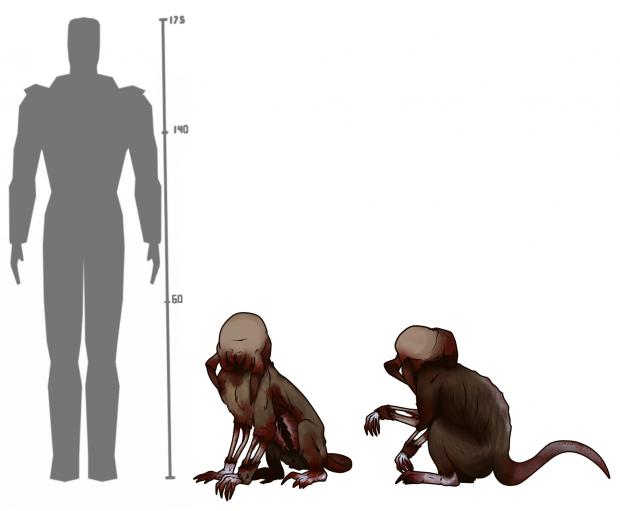 Half-Life: Hostile Takeover - Zombie Monkey Concept