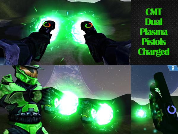 CMT Dual Plasma Pistols Green 12