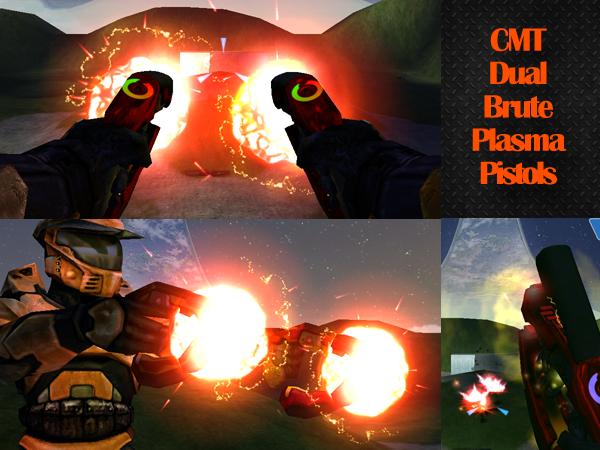 CMT Dual Plasma Pistols Red 16