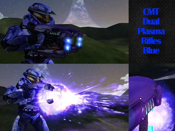 CMT Dual Plasma Rifles Blue 13