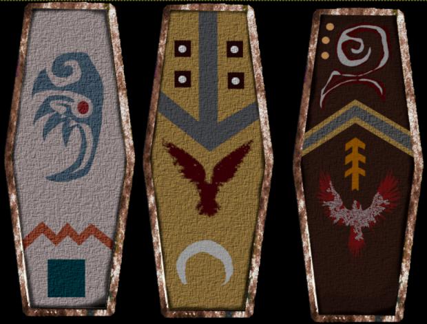 Dunlending Shields