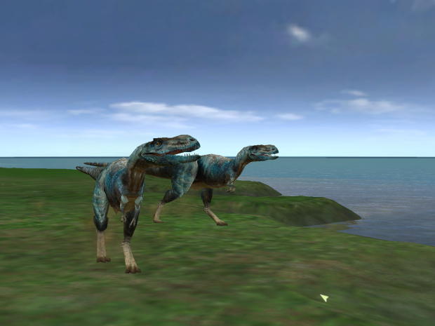 Walking With Dinosaurs 3D gorgon(Ingame)