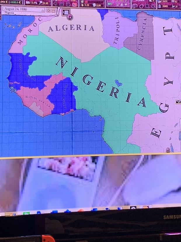 Nigeria thru a run thru 8