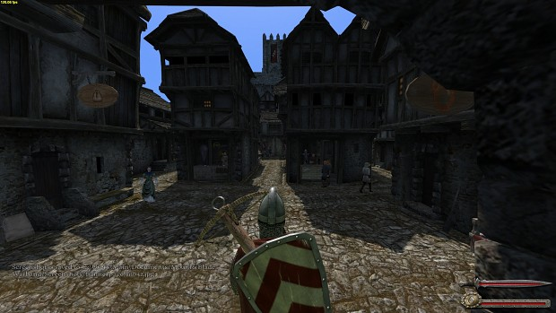 Swadian town - sunny day