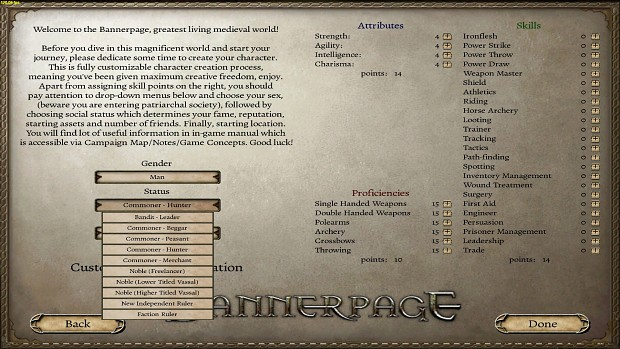 The King and The Beggar - Bannerpage 2.0 - Preview -