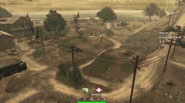 Vortex MW3 Map in COD4 Survival Mode Visual Filter