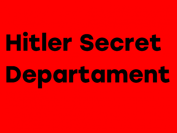 Wolfenstein 3D: Hitler Secret Departament