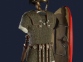 Legionary With Montefortino Helmet