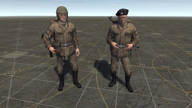 East German Fallschirmjäger's