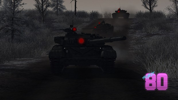 T-72A Night Time