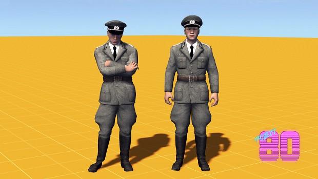 East German Officers