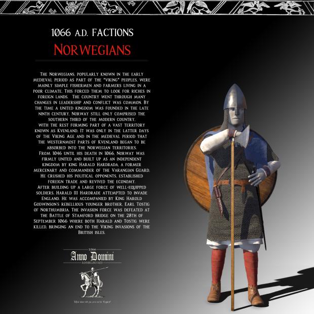 1066 A.D. Factions : The Norwegians