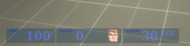 Wolfenstein 3D: source HUD