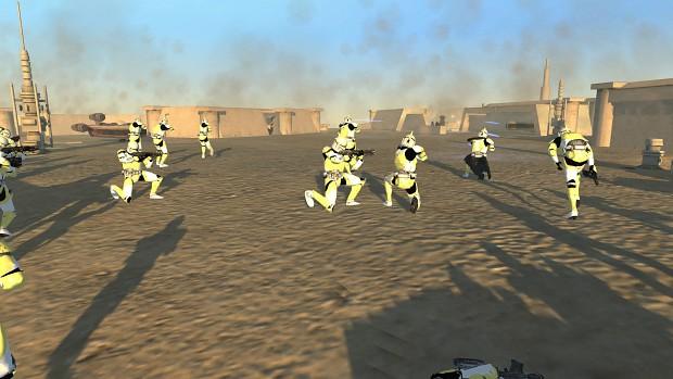 342nd troopers killing Rebels