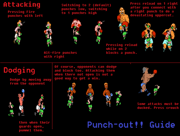 Punch out guide