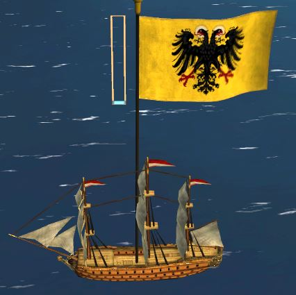 austria admiralship lowpoly highres diffuse