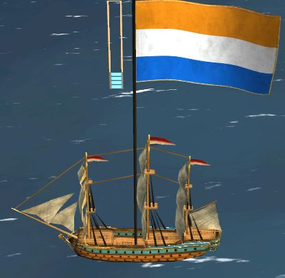 holland admiralship lowpoly highres diffuse