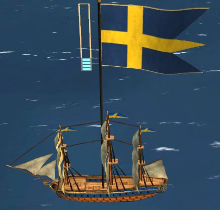 sweden admiralship lowpoly highres diffuse