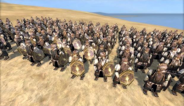 Orocarni Dwarves Army