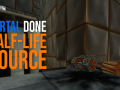 Portal done Half-Life Source