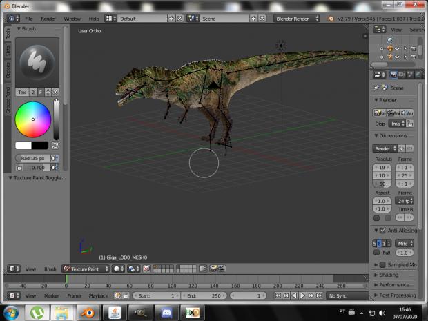 Giganotosaurus carolinii (model made by indodominus) image ...