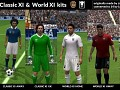 CLASSIC XI & WORLD XI KITS for FIFA 14