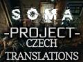 """SOMA Project """"Czech Translations"""""""