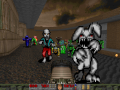 Catacomb 3D monsters for Doom 2